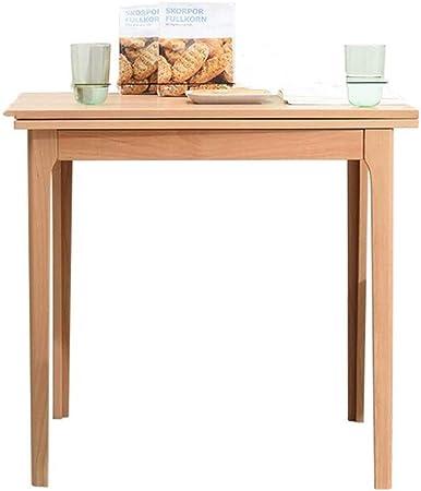 Tavolo E Sedie A Scomparsa.Moderno Tavolo Tavolino Legno Massiccio Mobilia Semplice