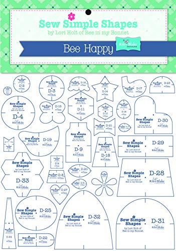 (Lori Holt's Sew Simple Shapes - Bee)