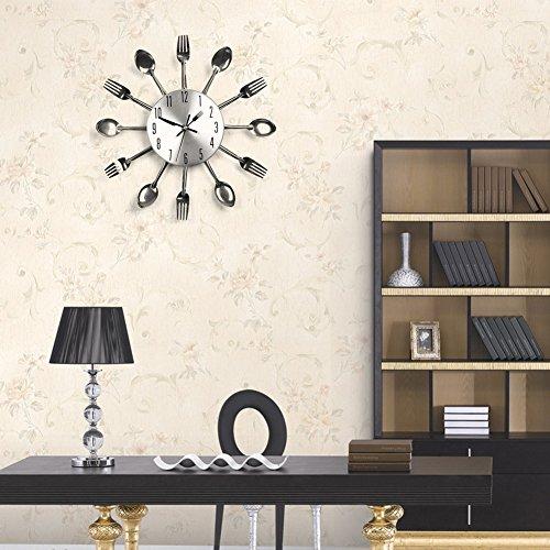 Suidcsui Modern Design Sliver Cutlery Kitchen Utensil Wall