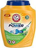 Arm & Hammer Bioenzyme Power Laundry Detergent Packs, 72 Count