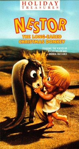 Amazon.com: Nestor the Long Eared Christmas Donkey [VHS]: Roger ...