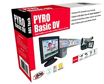 DOWNLOAD DRIVER: ADS PYRO BASICDV