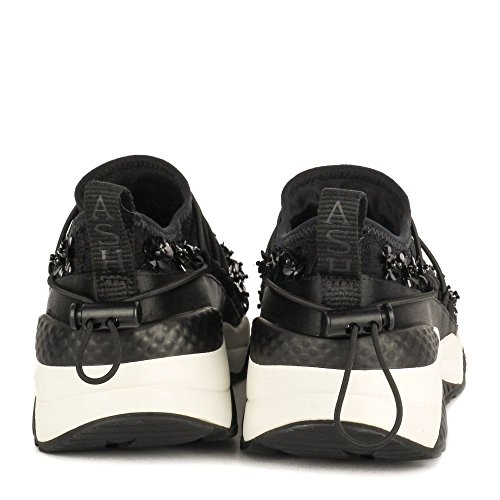 Ash Zapatos Miss Lace Zapatillas Mujer Negro