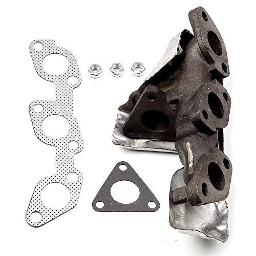 cciyu Stainless Steel Exhaust Manifold Kit Fits 1999-2004 Nissan Frontier 2000-2004 Nissan Xterra