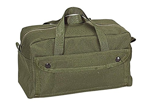 Rothco Nylon Mechanics Tool Bag, Olive Drab (Porter Cable Soft Sided Power Tool Bag A11901)
