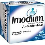 Imodium A-D Anti-Diarrhea, 72-Count Caplets, Health Care Stuffs