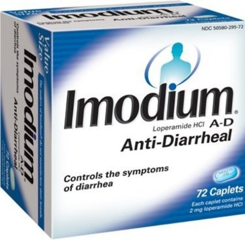 Imodium A-D Anti-diarrhéique, 72-Count Caplets