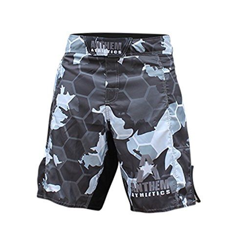 Anthem Athletics RESILIENCE Fight Shorts - Snow Camo Hex - 33""