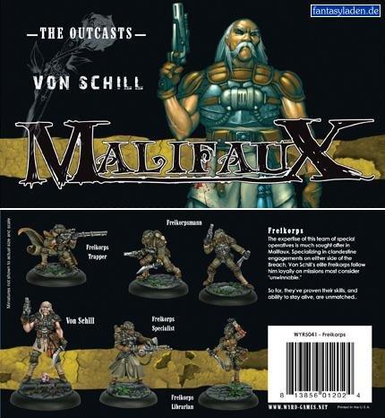 Freikorps Box Set Outcasts Malifaux