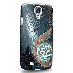 Case88 Premium Designs Dragon Ball Z GT AF Son Goku Son Goku VS Protective Snap-on Hard Back Case Cover for Samsung Galaxy S4 by icecream design