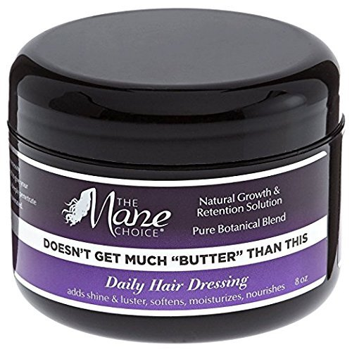 """The Mane Choice Doesn't Get Much """"Butter"""" Than This Daily Hair Dressing 8oz"""