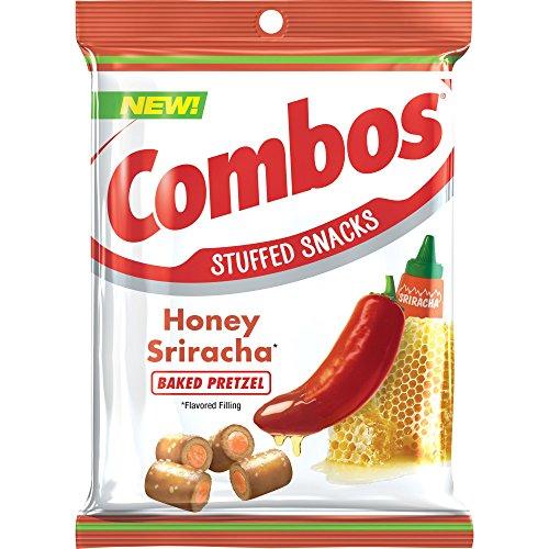 - Combos Sriracha Pretzel Baked Snacks, Honey, 6.3 Ounce (Pack of 12)