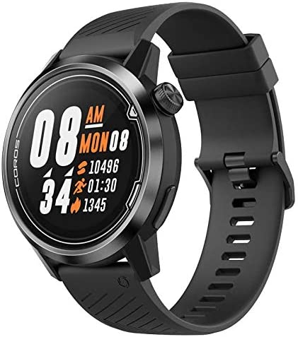 Coros APEX Premium Multisport GPS Watch Ultra-Durable Battery Life, Titanium, Sapphire Glass, HR Sensor, Barometer, Altimeter, Compass, ANT Connections, Strava Training Peaks