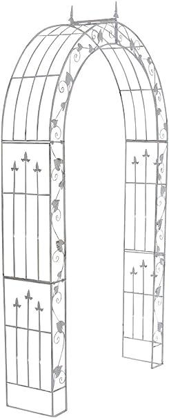 clp arche de jardin en fer forge emma i support pour plantes grimpantes robuste i arcade de jardin solide et durable i treillis de jardin