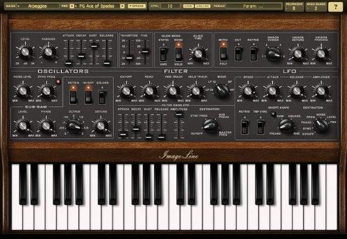Virtual Synthesizer - Image Line Sawer Virtual Synthesizer Software (Standard)