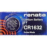 Renata CR1632 Lithium Battery 5-pack