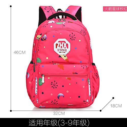 3 LFSHUB Neue Kinder Schultaschen Für Mädchen Orthopädische wasserdichte Rucksack Teenager Reise Schulranzen Kinder Rucksack Kindertasche