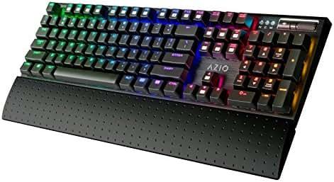 9db102da807 674 bình luận. Từ Mỹ. Azio RGB Backlit Mechanical Gaming Keyboard ...