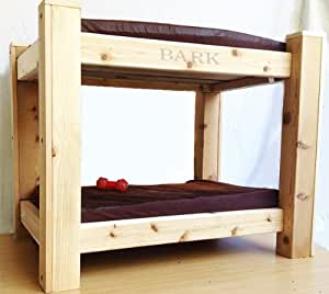 Bark 39 S Big Dog Bunk Bed With Toy Chest Step