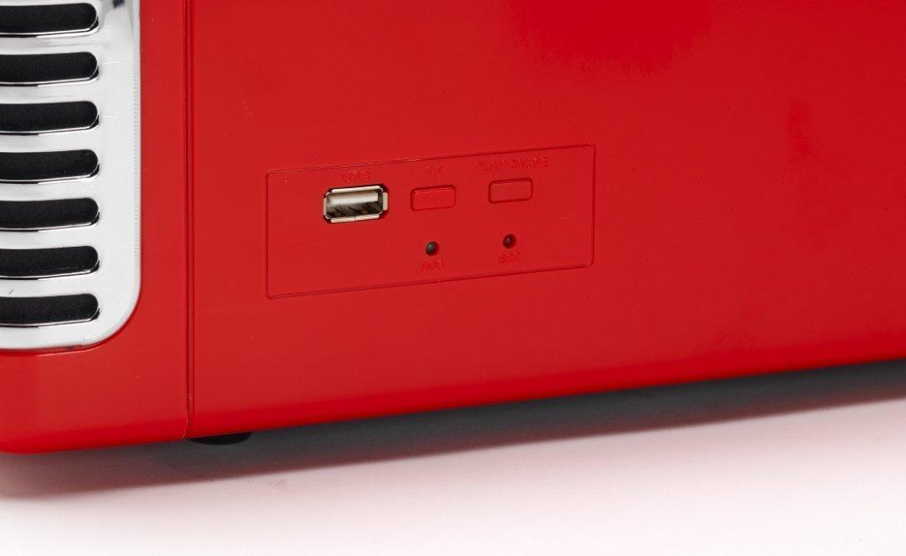 Amazon.com: RX-1 nostálgico graba Deck 60 S estilo – Rojo ...