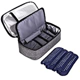 Insulin Travel Cooler Bag, Diabetic Organizer