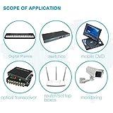 DC12V 2A Power Supply Adapter, SANSUN AC100-240V to DC12V Transformers, Switching Power Supply for 12V LED Strip Lights, 12 Volt 2 Amp Power Adaptor, 2.1mm X 5.5mm US Plug
