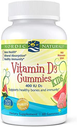 Vitamins & Supplements: Nordic Naturals Kids Vitamin D3 Gummies