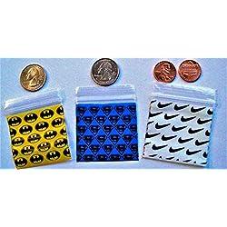"200-2"" X 2"" + 20 FREE! ""Top 3"" Combo-MiniZipL.Bags(Plastic)-3 Mils Thick"