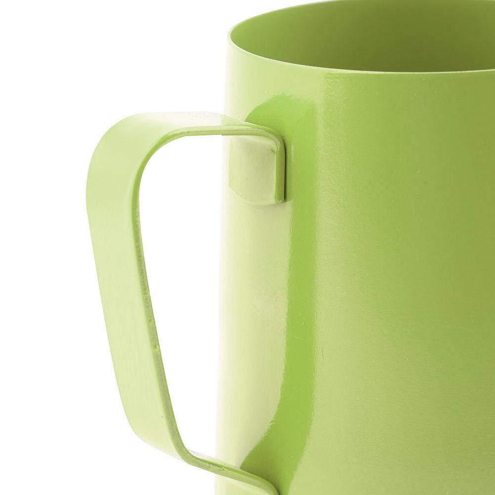 Negro Zerone Jarra de caf/é jarra de caf/é de 350 ml de acero inoxidable taza de espuma de leche jarra de caf/é para Latte Art