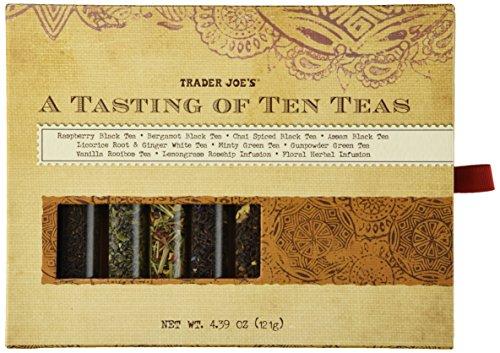 Trader Joes Tasting Ten Teas