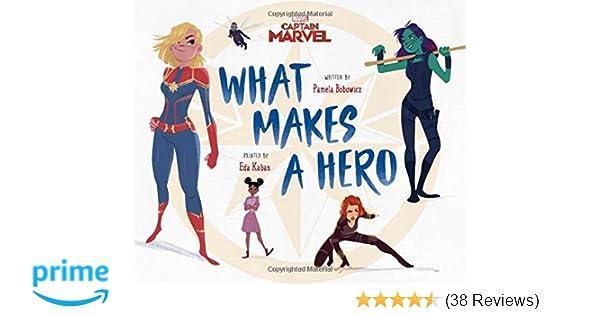 Amazon com: Captain Marvel What Makes a Hero (9781368048071): Pamela