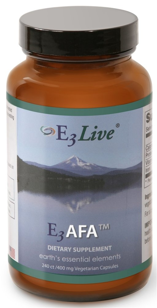 E3AFA 240ct (400mg) 1 bottle E3Live