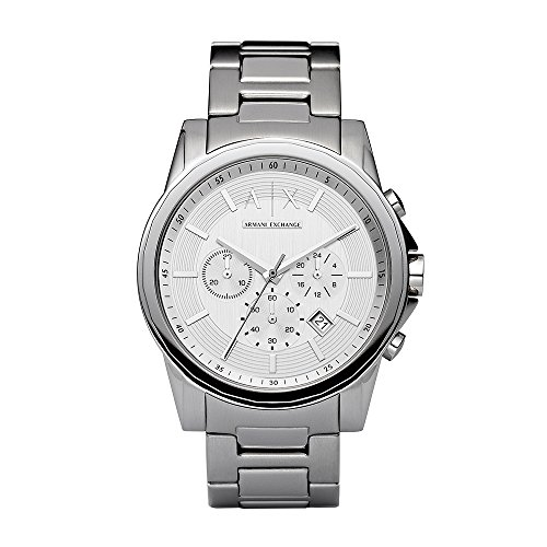 Armani Exchange Men's AX2058 Silver Watch -