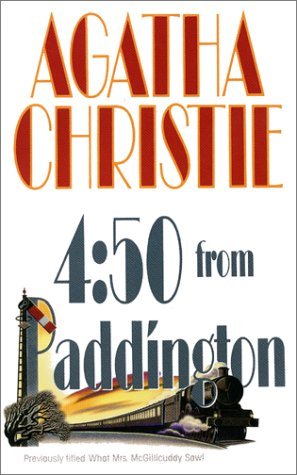 Book cover for 4:50 from Paddington