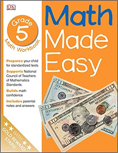 Math Made Easy Fifth Grade Workbook Dk Publishing John Kennedy