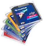 Fujifilm 100 MB Zip Disks (5-Pack, Assorted Colors) (Discontinued by Manufacturer)