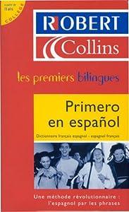Hardcover Primero en español : Dictionnaire français espagnol - espagnol français [French] Book