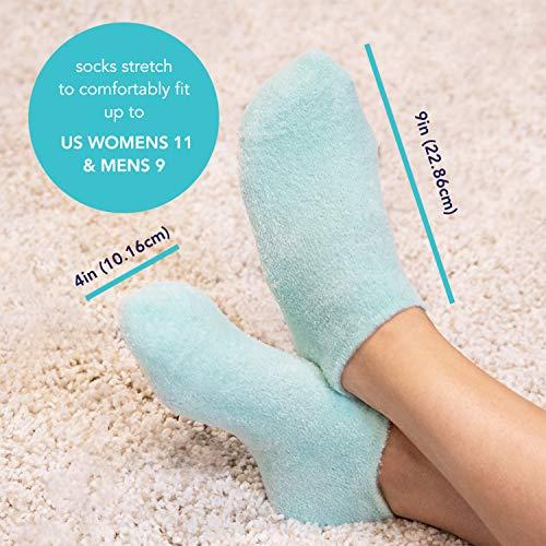 Barefoot Scientist Sleep On It Overnight Moisturizing Gel Socks, Nourish Your Feet