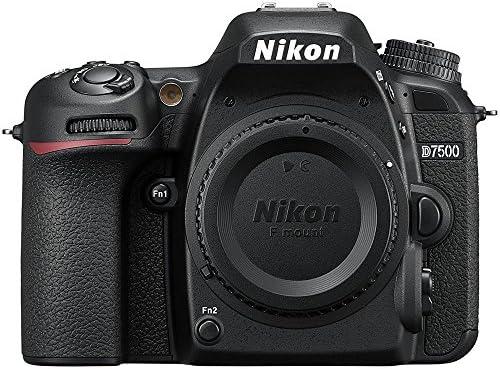 Nikon D7500 20.9MP DX-Format 4K Ultra HD Digital SLR Camera (Body Only) (Renewed) with 16GB Deluxe Lens Bundle 51HALkwp8OL