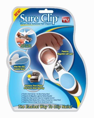 Sure Clip Nail Clipper (Sure Clip The WorldS Most Advanced Nail Clipper)