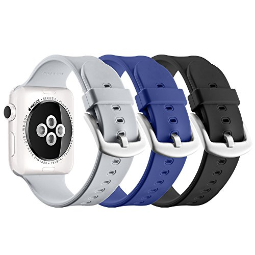 UMTELE Silicone Replacement iWatch Buckle