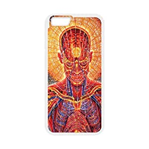 Psychedelic Anatomy Artistic2 07 iPhone 6 4.7 Inch Cell Phone Case White TPU Phone Case SV_228619