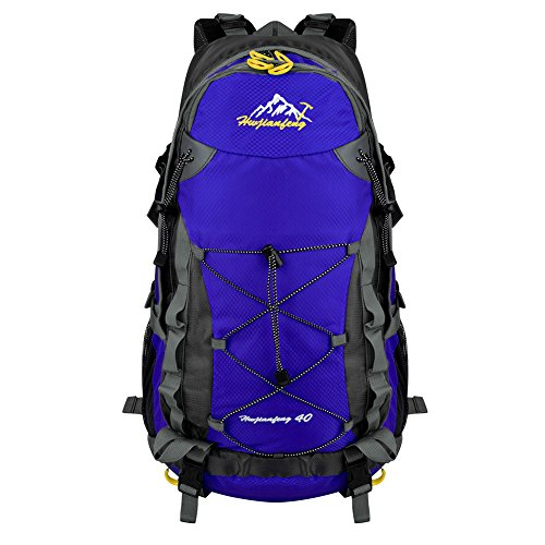 Vbiger 40L Hiking Backpack Camping Backpack Foldable & Packable for Outdoor Climbing and Travel
