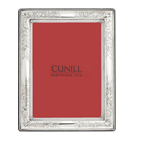 925 Sterling Silver Photo Frame - Cunill 180 Vintage 8x10 Frame Sterling Silver Picture Frame