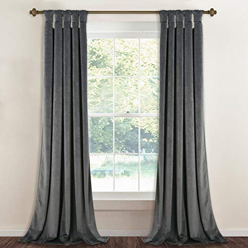 tab top curtains gray - 5