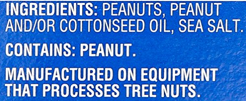 Planters Peanuts Single Serve Packages, Salted, 1 Ounce (Pack of 24)