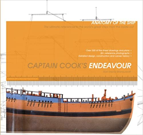 Book Captain Cook's Endeavour (Anatomy of the Ship)