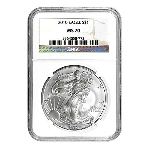 2010 American Silver Eagle ASE $1 MS-70 NGC
