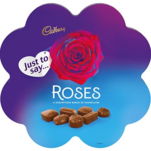 Original Cadbury Roses Flower Box Chocolates Imported From The UK England The Best Of British Chocolates Cadbury Roses Flower Chocolate Gift Box 275g