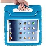 Apple iPad 2/3/4 Kids Case,Ocuya Kiddie Series Shockproof Case Light Weight Case With Handle for Apple iPad 2/3/4 (iPad 2/3/4, Blue)